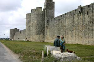 Aigues-Mortes eastern wall