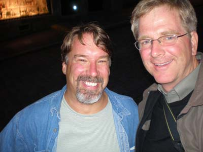 James Derheim and Rick Steves