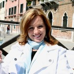 Jenean samples wine in Venice Italy
