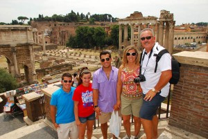 "<strong>The Cain family last traveled with us in 2008. They're back for an Italian Adventure.</strong> "" title=""CainFamilyForumDay1″ width=""300″ height=""201″ class=""alignleft size-medium wp-image-2603″ /></a><br /> <div id="