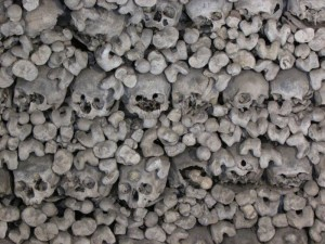 The oldest skulls have been here more than 600 years