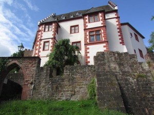 Mildenburg Castle was built on top of a former Roman castle