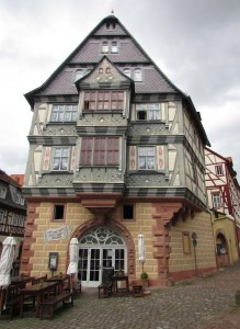 The venerable Riesen hotel, in use as a lodge for the privileged since 1590