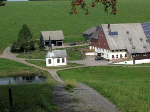 This large farm near Furtwangen has its own chapel