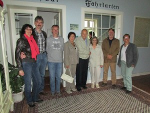 Marion and Manfred Rottkamp, Norbert Rottkamp, Ingrid Rottkamp, Ken and Gloria Temple, James Derheim and Heike Rottkamp
