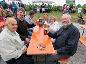 From left clockwise, Ken Temple, Manfred Rottkamp, Norbert Rottkamp, Heike Rottkamp, Gloria Temple and Uwe Rottkamp.