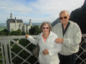 Ken and Gloria are celebrating 59 years of matrimony with a trip to Germany