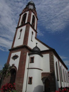 The church of St. Peter and St. Paul was built  in 1750