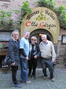 At the wine cellar in Beilstein