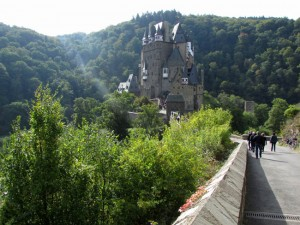The 800 year-old castle of Eltz