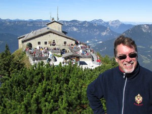 European Focus founder and guide James Derheim at the Eagle's Nest, Berchtesgaden, Germany