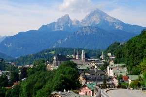 We spent three nights just chilling out in Berchtesgaden, where the scenery is spectacular.