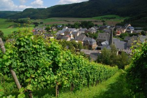 The hamlet of Burgen has a population of 600. Many of them are involved in the production of wine.