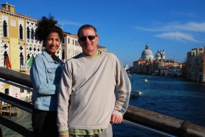 Eric and Patricia in Venice