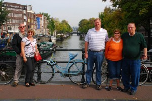 The Rosen family in Amsterdam